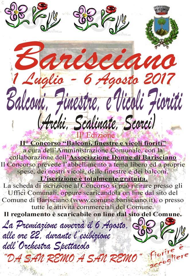 """[:it]Estate a Barisciano – Festa dei Fiori """"Finestre e Balconi Fioriti""""[:] @ Barisciano"""