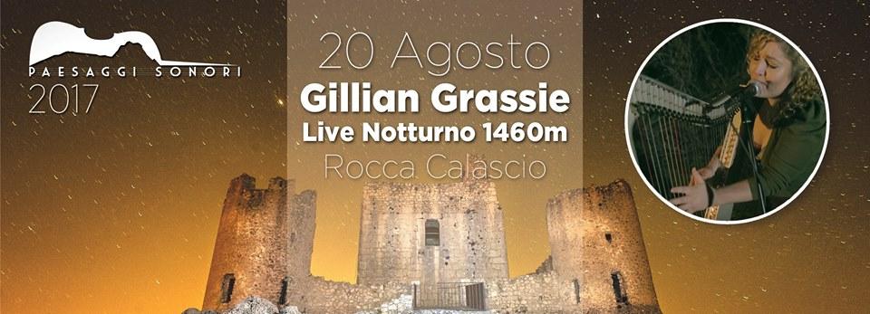 Gillian Grassie Live Notturno 1460m – Rocca Calascio @ Santo Stefano di Sessanio