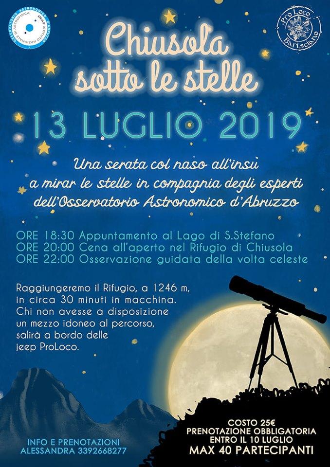 [:it]Chiusola sotto le stelle[:] @ Barisciano